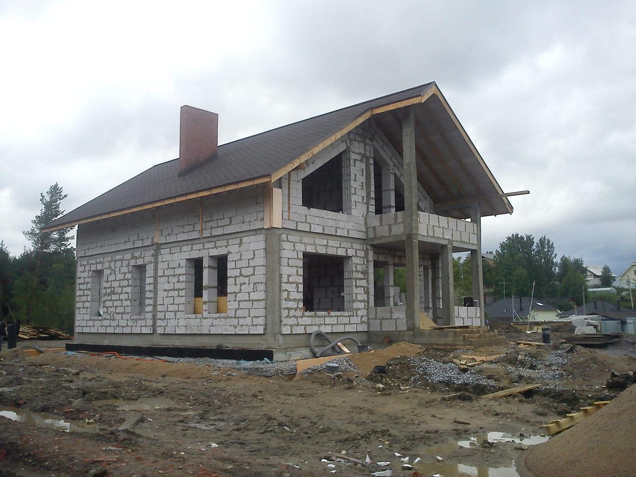 Монолитное каркасное строительство дома своими руками
