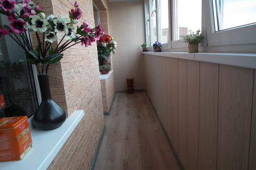 Фото отделки балконов домов дск..